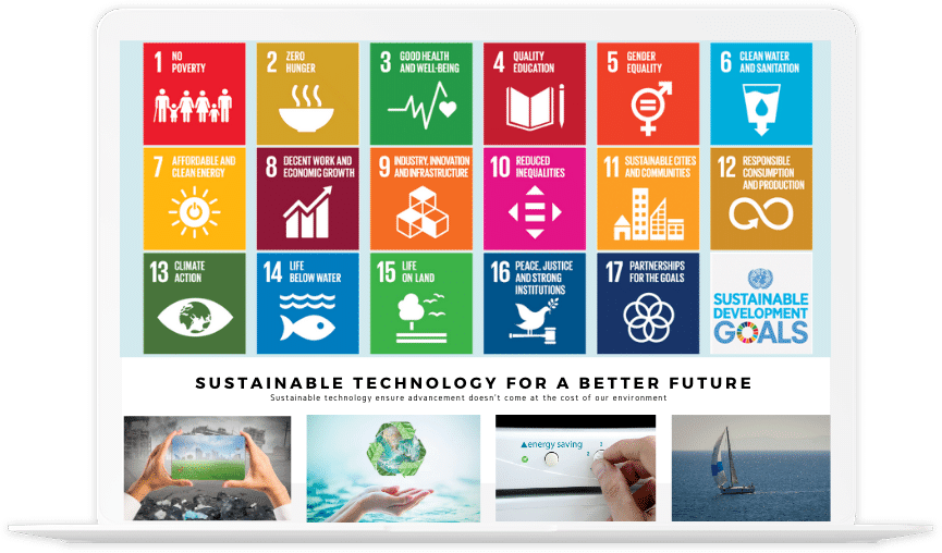 Sustainable technology 2020